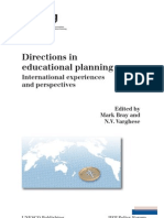 Directions in Educational Planning - UNESCO