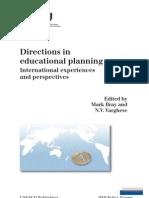 Directions in Educational Planning - UNESCO