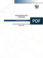 Risk Based Regulation Consultation Document RBRConsPaper