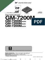 Pioneer GM 7200M