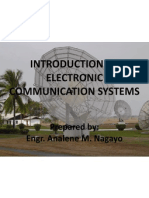 Intro to Electronic Communication System