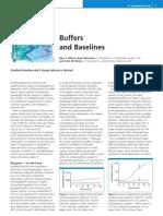 Buffers and Baselines