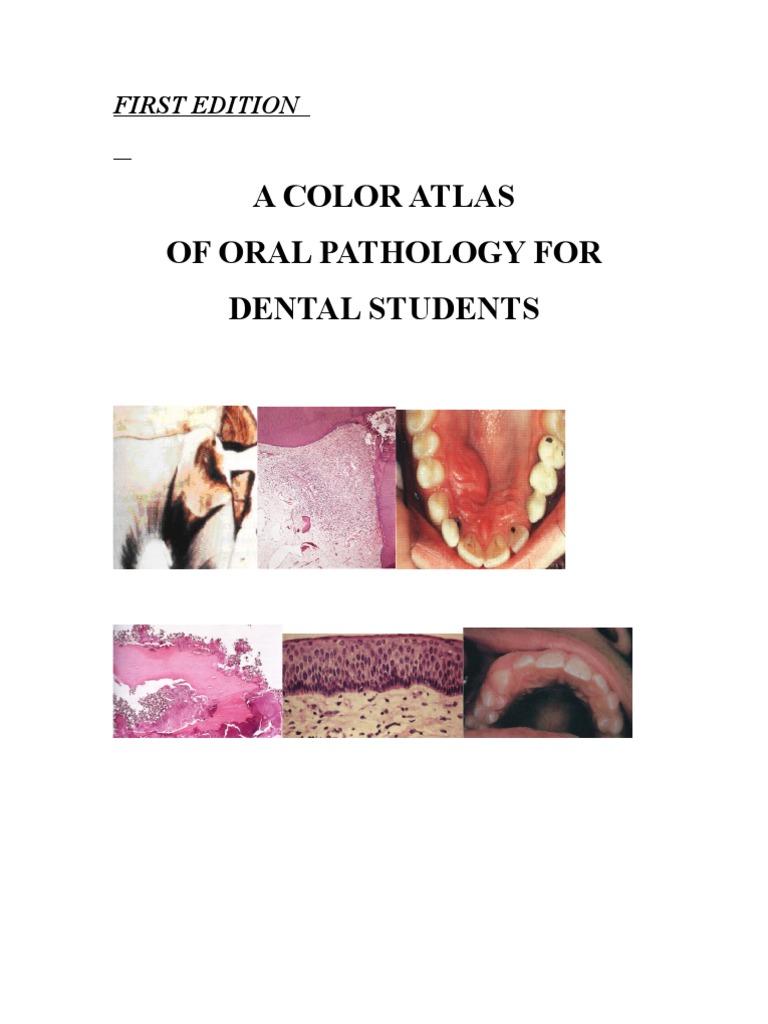 A Color Atlas For Oral Pathology   PDF