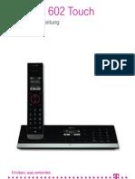 Sinus A602 Touch Handbuch