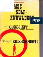 Basic Self Knowledge Gurdjieff Krishnamurti