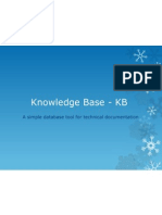 Knowledge Base - KB_updated