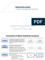 Managing Innovation
