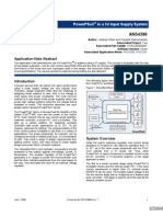 PowerPSoC® in a 5V Input Supply System
