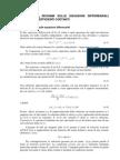 Richiami Equazioni Differenziali
