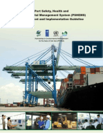 Port Safety, Health and Environmental Management System (PSHEMS) Development and Implementation Guideline