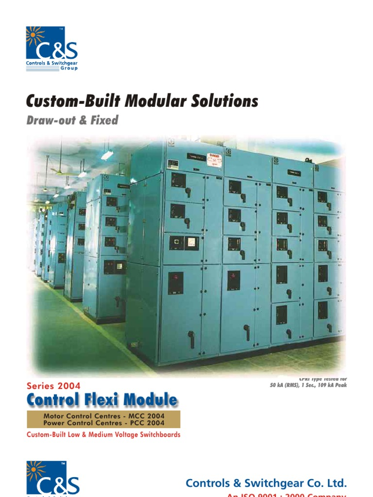 C&S Panel Catalogue | Fuse (Electrical) | Electrical Substation