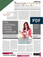 """Libro """"El café del búho"""" en Diario de Burgos - Editorial Círculo Rojo"""