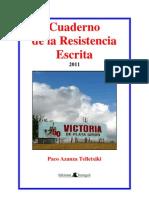 Cuaderno de la Resistencia Escrita 2011, 4