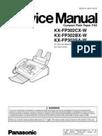 panasonic KX-FP302