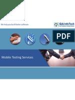 QAInfoTech Mobile VAS Testing Services