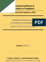 carnet vaccinuri