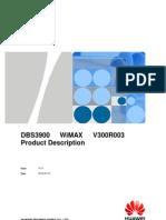 DBS3900 WiMAX V300R003 Product Description V1.0_20100510