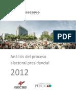 Analisis Del Proceso Electoral Presidencial 2012