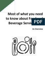 F&B Service Types