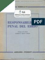 Teran Lomas Responsabilidad Penal Del Ebrio