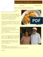 The Indian Vegetarian Cookbook by Globaltickit.com