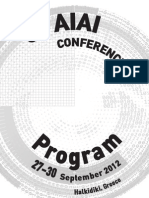 Program AIAI 2012