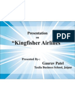 Kingfisher Airlines PPT