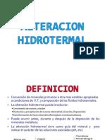 Alteracion Hidrotermal-geologia de Minas