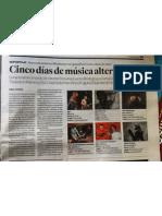 Tercera edició del Festival mirallsonor a Tarragona