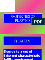 Properties of Plastics