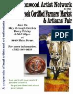 Cottonwood Creek Farmers Market and Artisan Fair
