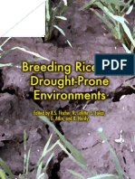 Breeding Rice for Drought-Prone Environments