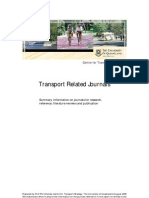 Transport Journals