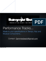 Performance Tracks