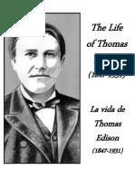 La Vida de Thomas Edison - Life of Thomas Edison