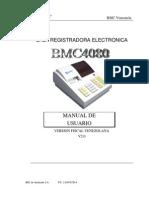BMC4080 Manual de Usuario