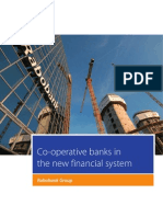 Co-operative banks in the new fi nancial system