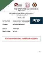 FORMACION DOCENTE 1A. PARTE
