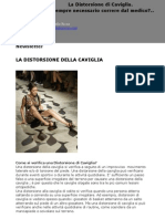 Newsletter_La Distorsione Di Caviglia. E' sempre necessario correre dal medico?
