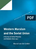 Van Der Linden Western Marxism and Soviet Union