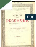 Mineiul pe Decembrie (1927)