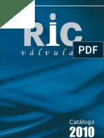 RIC VALVULAS CATALOGO EM PDF