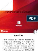 Fundaciones o Cimientos