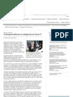 Transportadoras se adaptam ao Euro 5 Valor Econômico 20/07/2012
