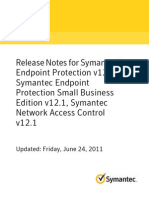 Release Note Symantec Endpoint Protection 12.1