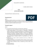 2011-Proiect Lege Deseuri Guvern