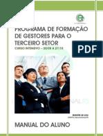 PROGRAMA DE FORMAÇÃO DE GESTORES PARA O TERCEIRO SETOR