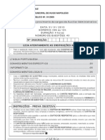 CCID10 Prova o Auxiliar Administrativo o Hugo Napoleao