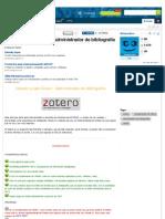 Instalar y usar Zotero - Administrador de bibliografía - Taringa!