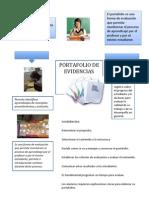 Infografia-portafolio de Evidencias